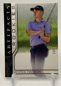 2021 Upper Deck Artifacts Golf Rookies JUSTIN THOMAS RC /999 True Rookie Card
