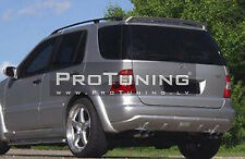 FOR MERCEDES ML W163 ROOF SPOILER COVER WING DOOR TAILATE