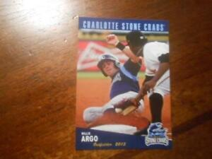 2013 CHARLOTTE STONE CRABS Single Cards YOU PICK FROM LIST $1 to $2 each OBO