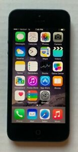 Apple iPhone 5 - 16GB - Space Gray (Verizon) A1429 (CDMA + GSM)