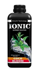 Growth Technology Ionic Coco Bloom 1L Hydroponic Nutrient Solution For Flowering