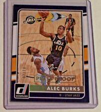 2015-16 Donruss Gold Press Proof Alec Burks /10 Utah Jazz Colorado