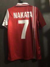 Maglia Perugia Serie A Nakata Hitedoshi Totti Roma Inter Jersey Football Vintage