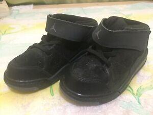 Jordan Flight Origin 602670-013 Black Kid's Shoe Size 10C