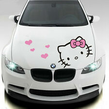 Hello Kitty Hood Decal 50x32cm Car Sticker Decal H0005BK