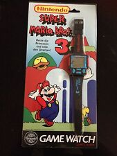 Nintendo Super Mario Bros.3 LCD Game & Watch Uhr * Neu / New *