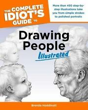 The Complete Idiot's Guide to Drawing People Illustrated by