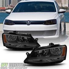 SMOKE 2011-2018 Volkswagen VW Jetta Headlights Signal Lamps Headlamps Left+Right