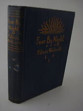 1st Edition FEAR BY NIGHT Patricia Wentworth FIRST PRINTING Mystery NOVEL Crime