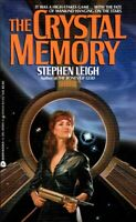 The Crystal Memory by Stephen Leigh / 1987 Avon Science Fiction
