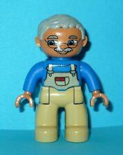 LEGO - Duplo Figure - Grandpa VGC