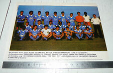 CLIPPING POSTER FOOTBALL 1987-1988 SEC BASTIA SECB FURIANI CORSICA