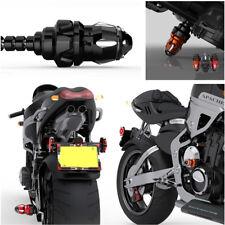 1PC M10+M8 Falling Protectors Motorcycle Frame Slider Anti Crash Caps Pad Black