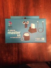 Digital Basics 4 Piece Master Kit for Apple AirPods Jester Red NEW