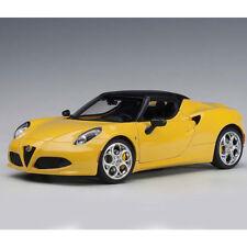 Autoart Alfa Romeo 4C Spider 1:18 Model Car Giallo Prototipo/Yellow 70143