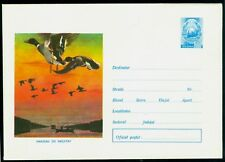 1977 Flying Ducks,Danube delta hunting Birds,fishing boat,Romania,cover