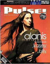 PULSE March  2002 /Alanis Morrisette, Billy Bragg, Damien Jurado, Lambchop