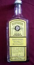 WATKINS Double Strength Imitation Vanilla Extract Yellow Label Bottle-Empty