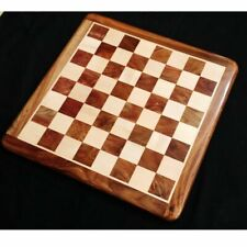21 inches Large Chess board in Golden Rosewood & Maple Wood - 55 mm Square