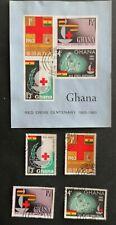 Ghana 1963 Red Cross USED