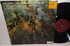 EMI MFP 2003 Brahms Violin Concerto Gioconda De Vito Philharmonia Orc Schwarz