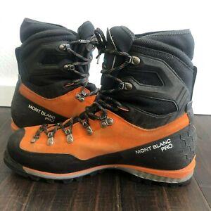 2021 Scarpa Mont Blanc Pro GTX Mountaineering Boots. Mens 11.5 US, 45 Euro