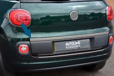 Chrome Arrière Porte Hayon Trim Strip capot pour s'adapter FIAT 500 L (2012+)