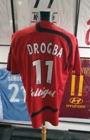 Maillot jersey shirt Guingamp worn porte eag drogba france ligue 2007 2008 06/08