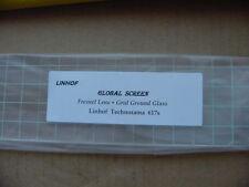 New Linhof Technorama 617 Camera Fresnel Lens + Ground Glass-Best quality