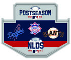 2021 NLDS DIVISIONAL DUELING PIN L.A. DODGERS SAN FRANCISCO GIANTS WORLD SERIES