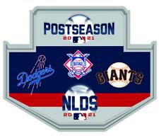 2021 Nlds Divisional Dueling Broche L.A.DODGERS San Francisco Giants Du Série