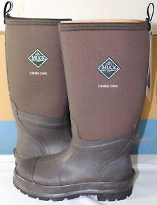 Muck Boot Men/Women CHORE HIGH ALL CONDITIONS WORK BOOTS, CHCT-900-BROWN