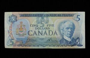 1979 $5 Dollar Bank of Canada Banknote 30550562742 Lawson Bouey F+ Grade