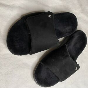 Vionic Womens Indulge Darby Black Slippers Size 8 (2195135) Slides Arch Support
