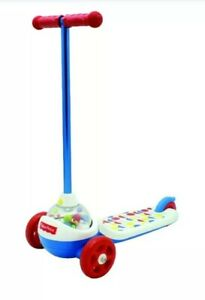 FISHER PRICE CORN POPPER SCOOTER-KIDS RIDE TOY-AGES 2+--NEW IN BOX!--