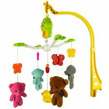 Gsi Baby Crib Musical Lullaby Mobile with Plush Bears