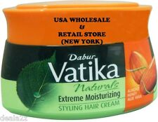 140ml Dabur Vatika Extreme Moisturizing Hair Cream Henna Almond Honey Aloe vera