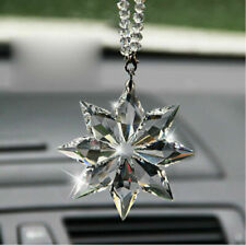 Crystal Clear Meteor Hammer Star Ornament Christmas Collectible Hanging Pendant~