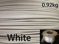 3 dplastx 1.75mm./300m./0.92kg. 3D Impresora Filamento ABS, Con Carrete, Blanco.