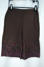 HaaT ISSEY MIYAKE Brown Gaucho Pants 2116