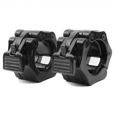 1 Pair 50mm Lock Collars Standard Olympic Barbell Weight Lifting Fitness Workout