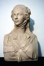 Köngin Luise von Preußen Jugendstil Objekt Skulptur Büste Alabaster Rauch old