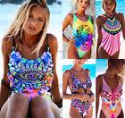 Sexy Women's One piece Bikini Push-Up Padded Swimwear Swimsuit Bathing Beachwear