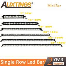 Mini  Slim 7'' 13'' 20'' 25''32'' 38'' inch Led Work Light Bar Single Row 20inch