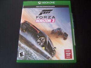 Replacement Case (NO  GAME) FORZA 3 THREE Horizon XBOX ONE 1 XB1 100% ORIGINAL