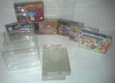 Video game box protector for nintendo 64 N64 & super nintendo SNES x 1