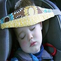 Winter Adjustable Child Kids Safety Car Seat Travel Sleep Aid Head Strap Support