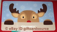 "EB GAMES/GAME STOP GIFT CARD ""RUDOLPH THE RED NOSED REINDEER"" NO VALUE NEW 2018"