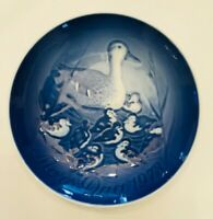 Bing & Grondahl Mother's Day 1973 Collector Plate Mother Duck & Ducklings