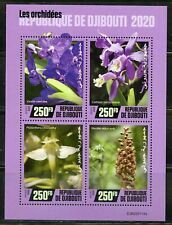 DJIBOUTI 2020 ORCHIDS SHEET MINT NEVER HINGED